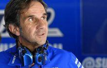 Valentino Rossi Digosipkan Merapat ke Suzuki di MotoGP 2021? Bos Suzuki Ecstar Buka-bukaan