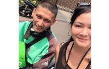 Bikin Haru, Melanie Subono Pesan Ojek Online, Drivernya Ingat Diajak ke Dufan Waktu Masih Bocah