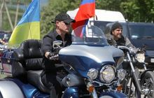 Presiden Rusia Vladimir Putin mengendarai Motor Tidak Pakai Helm, Dituntut Warganya Bayar Denda Segini