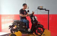 Honda Scoopy Lincah Jadi 125 cc Dipakai Guru Ngaji Naik Turun Kawasan Puncak Dikorek BRT