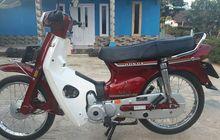 Langka! Honda Astrea Star Merah Tahun 1994 Km 35 Dijual Cuma Rp 8 Jutaan