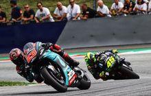 Hasil FP1 MotoGP Inggris 2019, Rossi Masih Kalah Cepat Dari Quartararo