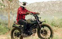 Macho Abis, Modifikasi Yamaha XSR155 Jadi Scrambler, Tonjolkan Deltabox