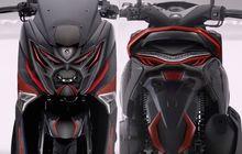 Kelamaan Enggak Diupdate, Yamaha NMAX Berubah Menjadi Robot Max di Car Free Day