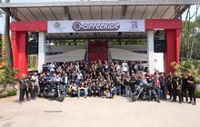 Seru Abis! Ramainya Gelaran Coffeeride, Diserbu Bikers dari Puluhan Komunitas