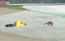 Sedihnya Dovizioso, Peluang di MotoGP Inggris 2019 Hancur Gara-gara Quartararo