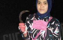 Bekasi Geger, Perempuan Pemotor Berhasil Rebut Celurit dan Lumpuhkan Begal, Korban Sempat Terjungkal