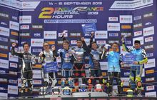 Pakai Regulasi Baru, Ini Dia Para Juara Yamaha Endurance Festival 2019 di Sirkuit Sentul