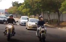 Seksi Banget, Video Nikita Mirzani Asyik Kendarai BMW R Nine T Spezial, Sampai Pamer Lepas Tangan