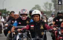 Gagah Banget, Video Ustadz Abdul Somad Konvoi Naik Chopper Dikawal Bikers di Batam