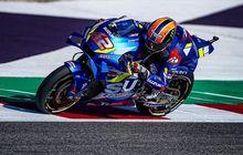 Hasil FP3 MotoGP Aragon 2019, Alex Rins Geser Vinales, Marquez Gak Berani Basah