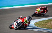 Hasil Race 1 FIM CEV Repsol Moto2 Albacete 2019, Andi Gilang dan Gerry Salim Naik 2 Posisi