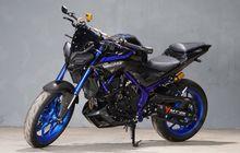 Yamaha MT-25 Dibuat Hedon, Pakai Lampu MT-15 Sampai Suspensi Ohlins