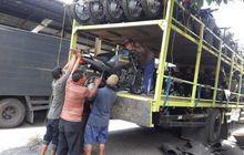 Asyik Banget, Polda Bali Dapat Bantuan 65 Unit Motor Honda CB150 Verza