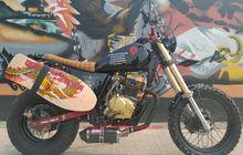 Usung Wajah Baru, Honda Tiger Dirtbike Concept Dilengkapi Papan Seluncur Aspal