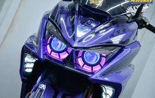 Headlamp Terpisah Bodi Meruncing Dikira New Yamaha NMAX, Makin Mewah Setelah Dimodif