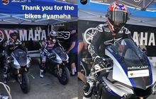 Ada Apaan Nih! Mantan Pembalap MotoGP Casey Stoner Jajal Motor Yamaha R1