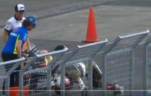 Kejam! Finis Podium 2 di Moto3 Jepang 2019, Albert Arenas Disiksa Alex Rins