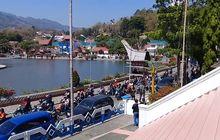 Meriah Banget, Video Ratusan Motor Kawal Pelantikan Ketua DPRD Tana Toraja