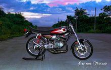 Modifikasi Yamaha RX-King Habiskan Puluhan Juta, Ubahan Mesin Jadi Fokus