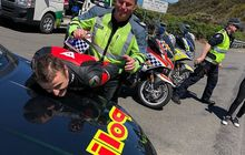 Waduh! Jack Miller Kena Tilang Naik Moge Ducati, Kena Operasi Zebra?