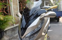 Gagah Banget Cover Bodi Depan Honda PCX Bergaya Yamaha XMAX, Berapa Sih Harganya?