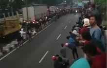 Viral Video Balap Liar Tabrak Penonton Sampai Jungkir Balik di Sidoarjo, Polisi Langsung Gerak Cepat