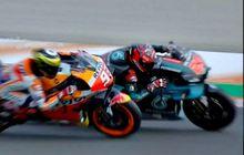 Hasil MotoGP Valencia 2019, Duel Sengit Marquez Lawan Quartararo, Siapa Yang Juara?