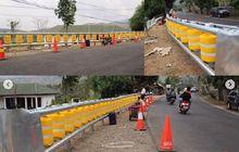 Ditakuti Bikers, Tujuh Titik Jalur Tengkorak di Jawa Barat Dipasang Barrier