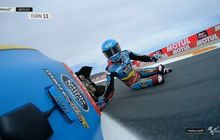 Alex Marquez Jatuh di Moto2 Valencia 2019, Netizen Hujat Habis-habisan