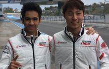 Cuaca Buruk, Video Pembalap Indonesia Jalani Tes Pramusim Moto2 Jerez, Naik Motor Diam