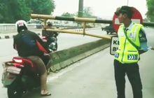 Pemotor Bandel yang Sering Masuk Jalur Busway Langsung Kapok, Surat Tilang Langsung Dikirim ke Rumah