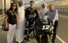 Kelar Meriahkan Launching Motor Baru Yamaha di Indonesia, Maverick Vinales Langsung Latihan di Qatar