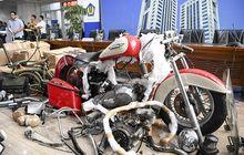 Enggak Nyangka, Ternyata Bakalan Diginiin Nasib Motor Harley-Davidson Selundupan Milik Mantan Bos Garuda Indonesia
