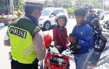Polisi Sampai Heran Honda BeAT Pakai Pelat Nomor Unik Terjaring Razia, Pengakuan Pemilik Motor Bikin Kaget