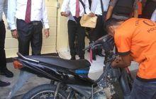 Maling Motor Makin Pintar, Modal Korek Api Motor Korban Dibawa Kabur, Pemilik Lemas Menahan Tangis