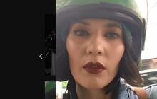 Bikin Gagal Fokus, Artis Hannah Al Rashid Tebar Kecantikan Kelar Perawatan Muka Sambil Naik Ojek Online, Tapi Ada yang Dilupain