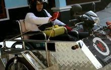 Patut Dicontoh Semangatnya, Video Viral Perempuan Hebat Pakai Motor Roda Tiga, Motivasinya Dari Pembalap Dunia Ini