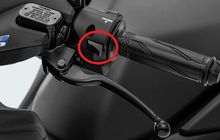 Mirip Tombol Lampu Dim di Motor Sport, Ternyata Ini Fungsi Tombol di Saklar Sebelah Kiri Yamaha All New NMAX