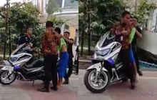 Grogol Geger! Video Satpam Naik Yamaha NMAX Main Pukul Pasien yang Mencoba Kabur, Netizen: Mirip Tukang Palak