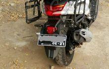 Demam Pasang Sepatbor Belakang Yamaha Byson di NMAX, Aura Adventure Jadi Makin Kental