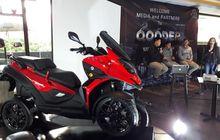 Fenomenal Banget, Resmi Dijual di Indonesia Pemesan Skutik Roda 4 Qooder Tembus 50 Persen