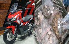Bikin Geleng-geleng, Warga Bogor Beli Honda ADV150 Baru Pakai Uang Receh, Segini Lama untuk Menghitungnya