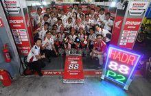 Bikin Bangga, Andi Gilang dan Tim Honda Asia Dream Racing Raih Podium 2 di Sepang 8 Hours