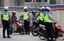 Bikers Simak Nih Maksudnya PSBB, Polda Metro Jaya Belum Batasi Akses Keluar Masuk Kendaraan di Jabodetabek