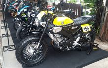 Video Keseruan Customaxi Yamaha x Yamaha Heritage Built Semifinal Bekasi, Yamaha XSR155 Unjuk Gigi
