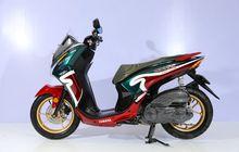Yamaha Lexi Pakai Livery Underbone 2-Tak, Raih Juara Daily Customaxi Bekasi