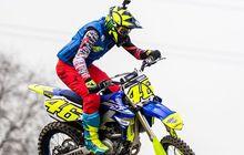 Valentino Rossi Sedikit Bicara, Genjot Latihan Hadapi Tes Pramusim MotoGP 2020