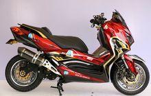 Pilihan Sokbreker Upside Down Yamaha XMAX, Tinggal Siapkan Dana Segini