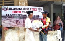 Peduli Bencana Lebak Banten, YNCI Depok Chapter Langsung Gerak Cepat Salurkan Bantuan
